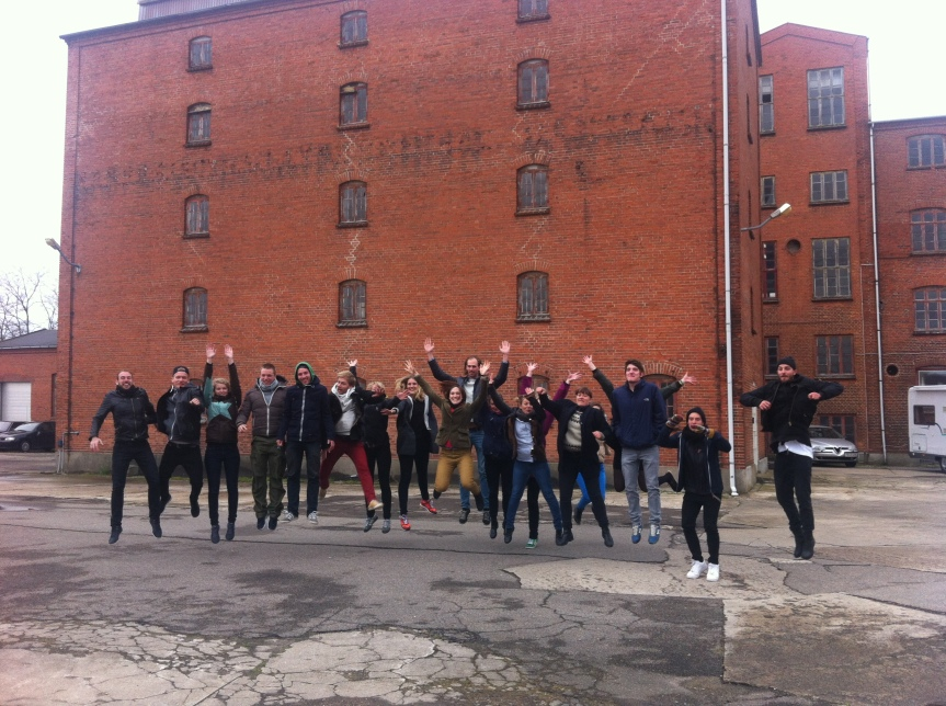 The Coffefactory in Hedehusene - behind the happy design students
